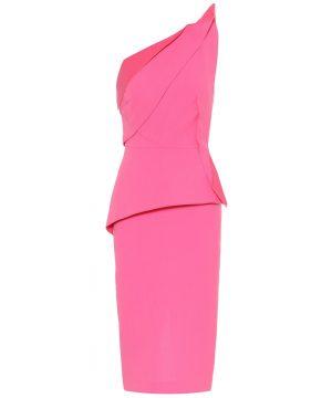 Mendes wool crêpe dress