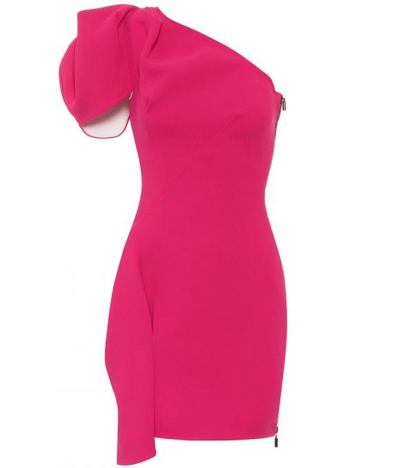 Mimicry asymetric dress