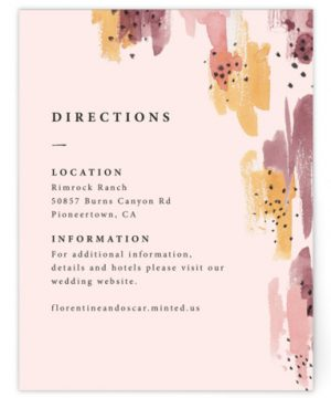 Mod Brush Directions Cards