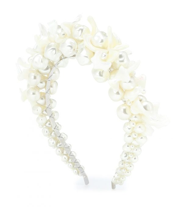Mother-of-pearl headband