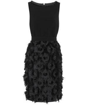 Nastro cady and fil coupé dress