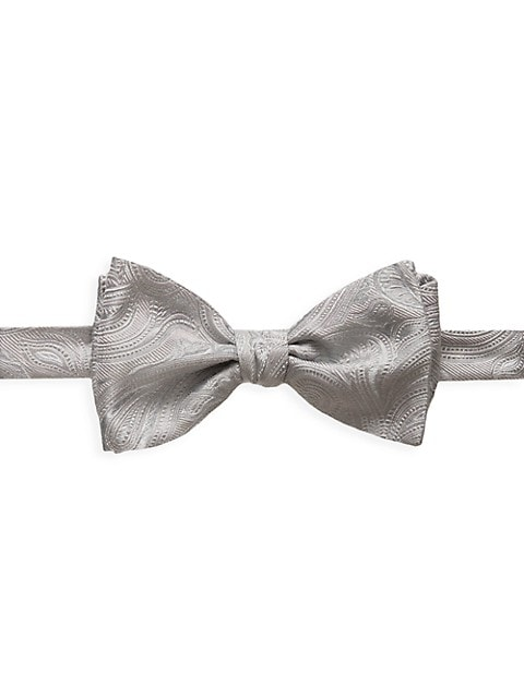 Paisley Silk-Blend Bow Tie