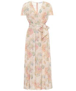 REDValentino floral fil coupé dress