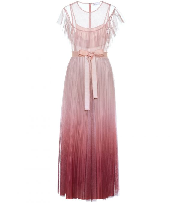 REDValentino ombré tulle gown