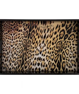 Roberto Cavalli - Jaguar Rectangular Tray - Large