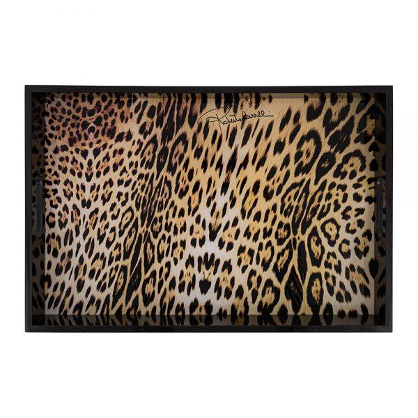 Roberto Cavalli - Jaguar Rectangular Tray - Large