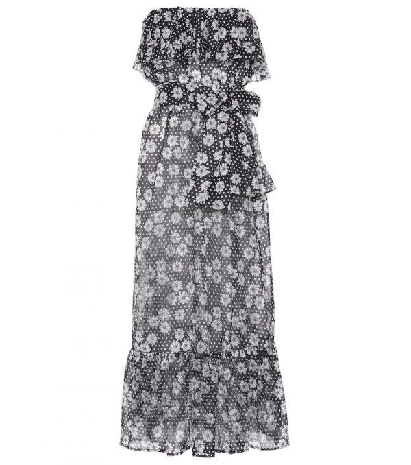 Sabine floral-printed cotton dress