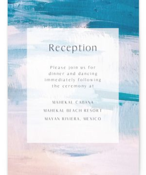 Sand & Sun Reception Cards