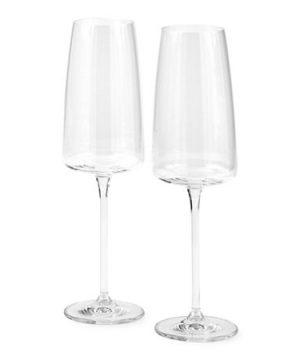 Schott Zwiesel Sensa 2-pc. Champagne Flutes, One Size , Multiple Colors