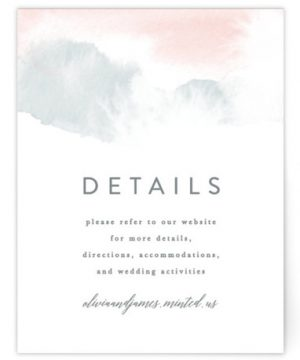 Sea Froth Directions Cards