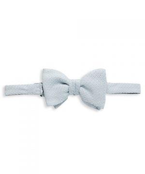 Silk Knit Bow Tie