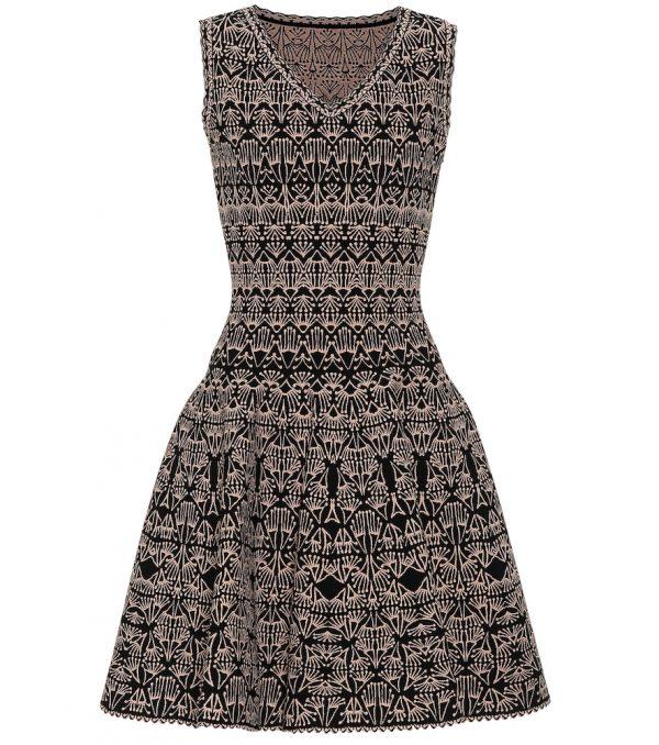 Stretch-knit dress