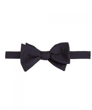 Textured Silk Bow Tie