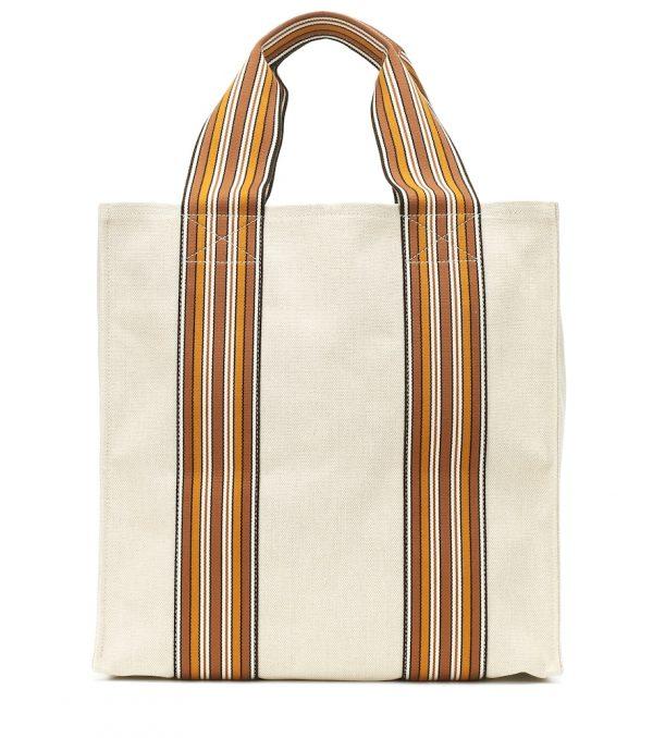The Suitcase Stripe Medium tote