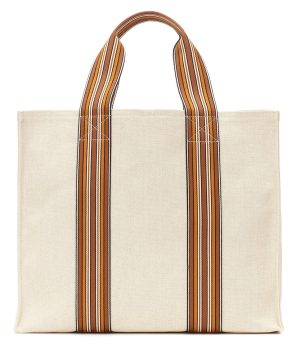 The Suitcase Stripe Small tote
