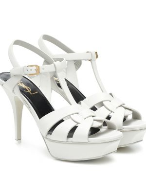 Tribute 105 leather platform sandals