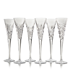 Waterford Connoisseur Heritage Champagne Flutes, Set of 6