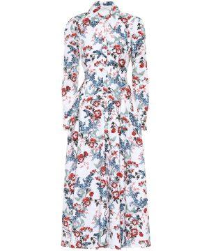 Yolande linen dress