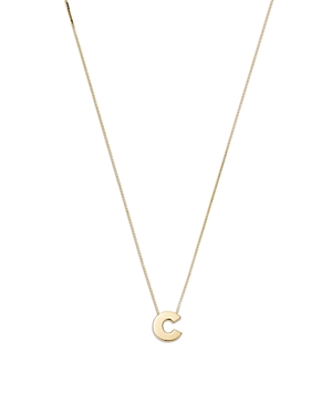 Bloomingdale's Initial Pendant Necklace in 14K Yellow Gold, 16 - 100% Exclusive