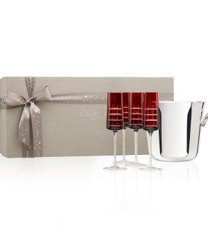 Christofle - Graphik Champagne Gift Set