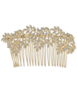 Inc Gold-Tone Pave Vine Hair Comb, Created for Macy's