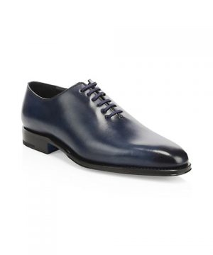 Oliver Leather Lace-Up Dress Shoes
