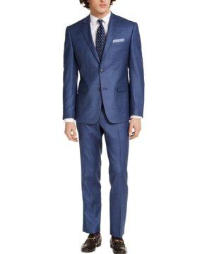 Perry Ellis Men's Slim-Fit Stretch Suits