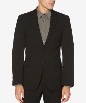 Perry Ellis Men's Washable Slim-Fit Luxe Blazer